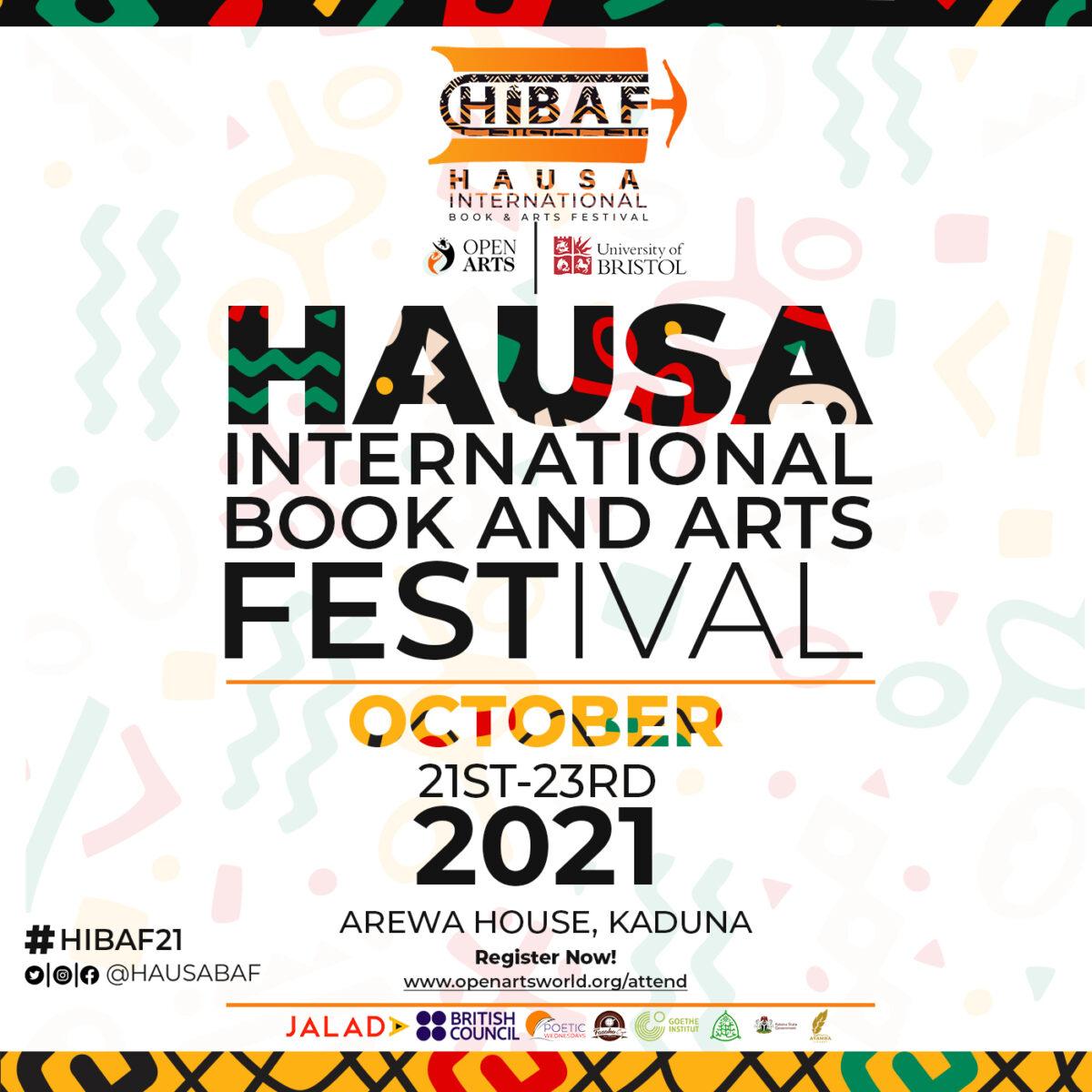 Hausa International Book & Arts Festival - print cover_square